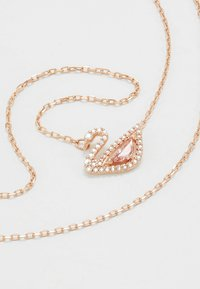 Swarovski - DAZZLING SWAN NECKLACE - Naszyjnik - fancy morganite - 5