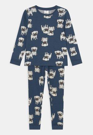 MINI PUPPY PUGS UNISEX - Pyjama set - dark dusty blue
