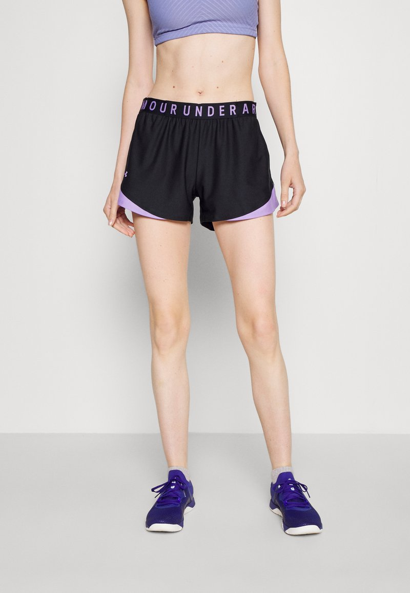 Under Armour - PLAY UP 3.0 GEO SHORT - Sports shorts - black