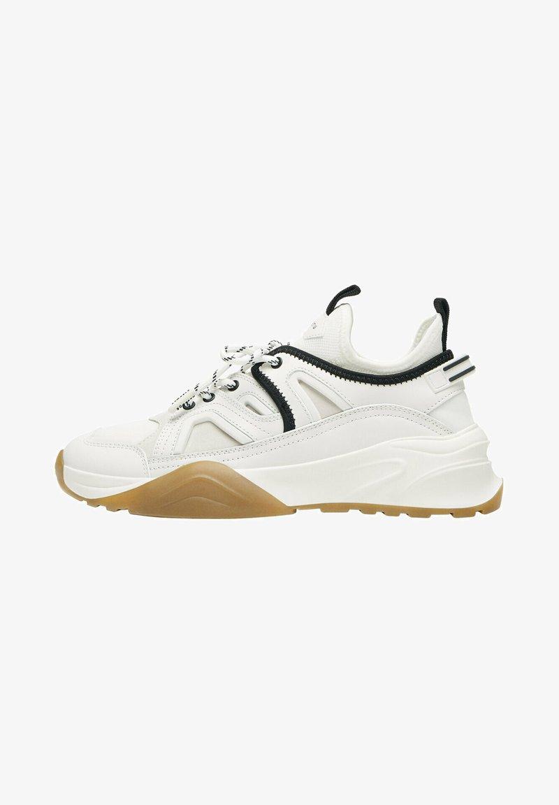 Uterqüe - Sneakers laag - beige