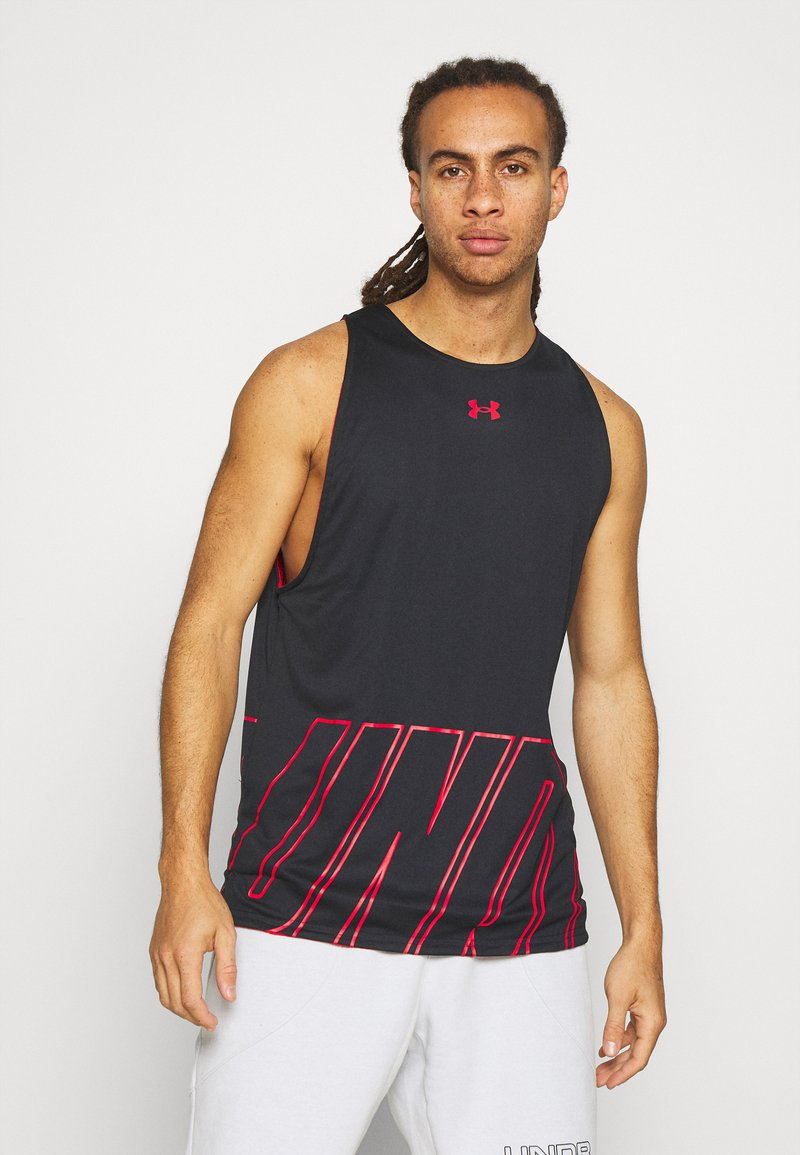 Under Armour - BASELINE REVERSIBLE TANK - Top - black/red