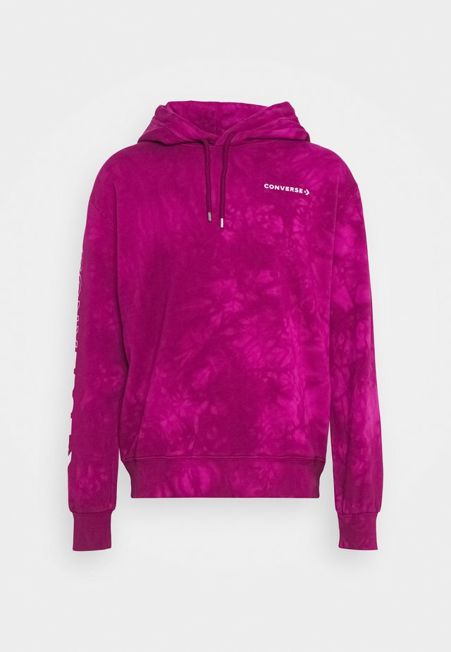 HOOD CHEVRON WASHED - Hoodie - cactus flower