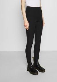 Tommy Hilfiger - GABARDINE SKINNY - Leggings - Trousers - black - 0