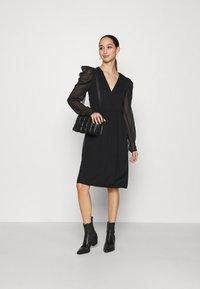 Vila - VIELLIAN DRESS - Day dress - black - 1
