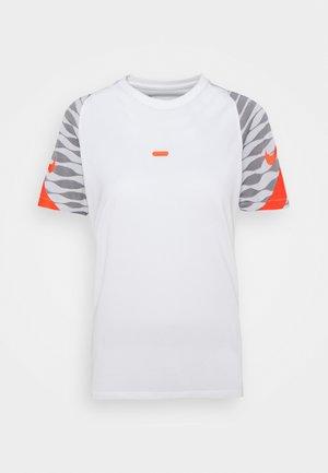 STRIKE 21 - T-shirt con stampa - white/black/bright crimson