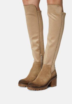 COSMOS - Overknee laarzen - marvin/gamo stone/moma