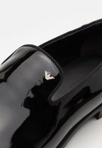 Emporio Armani - Scarpe senza lacci - black - 5