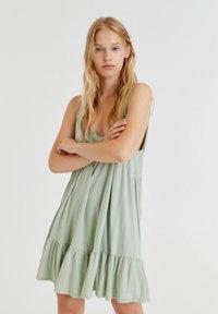 PULL&BEAR - Day dress - green - 0