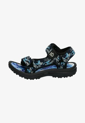 Walking sandals - blue