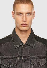 Diesel - Giacca di jeans - black - 3