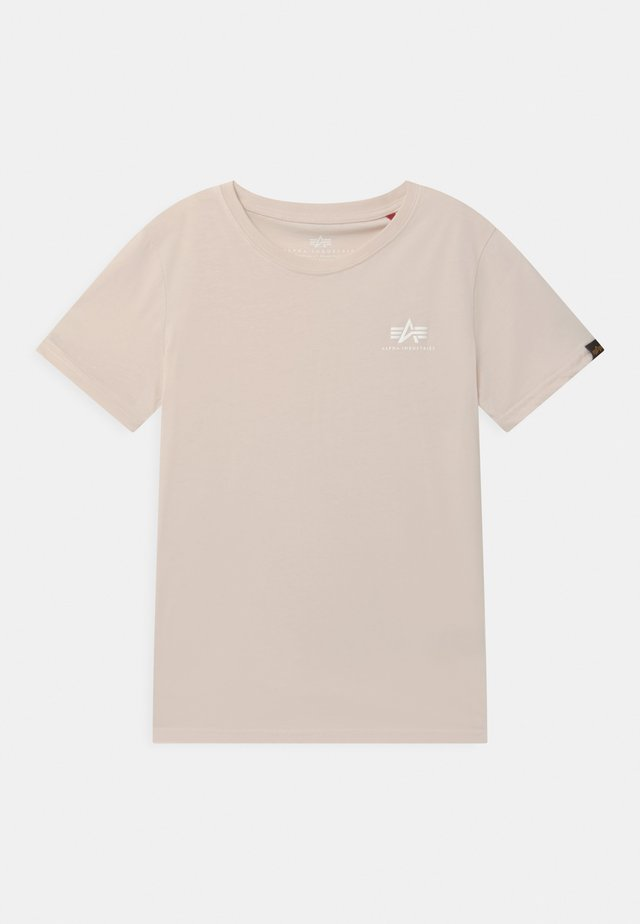 BASIC SMALL LOGO - Basic T-shirt - jet stream white