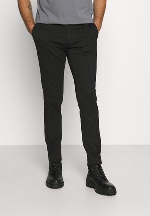 PUNTO MILANO SLIM PANTS - Trousers - black