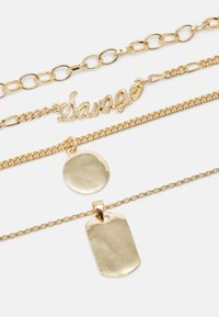 Fire & Glory - FAPPY COMBI NECKLACE - Smykke - gold-coloured - 2