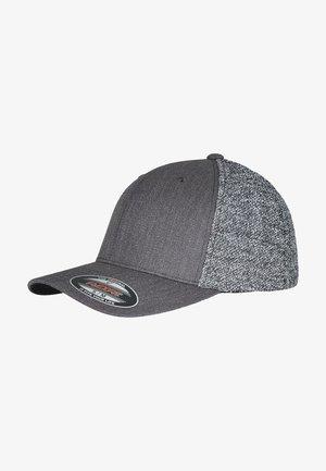 Cap - black/greymelange