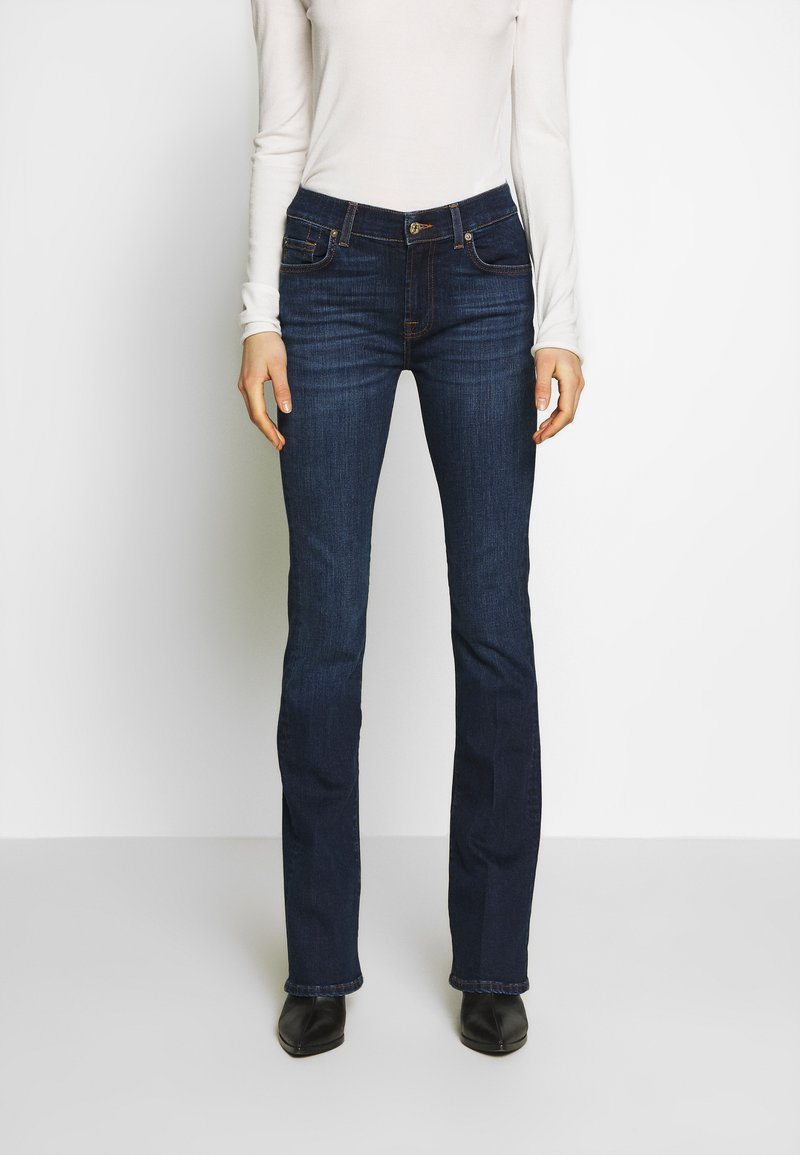 7 for all mankind - Bootcut jeans - dark blue