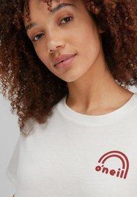 O'Neill - Print T-shirt - powder white - 3