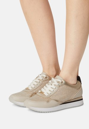Sneakers laag - light gold comb