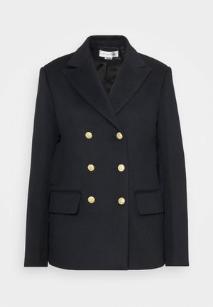 DOUBLE BREASTED PEA COAT - Blazer - navy