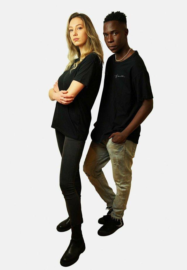 FAITH  - T-shirt basic - black