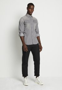 G-Star - 3301 SLIM SHIRT L\S FADED DUST GREY MEN - Camicia - faded dust grey - 2