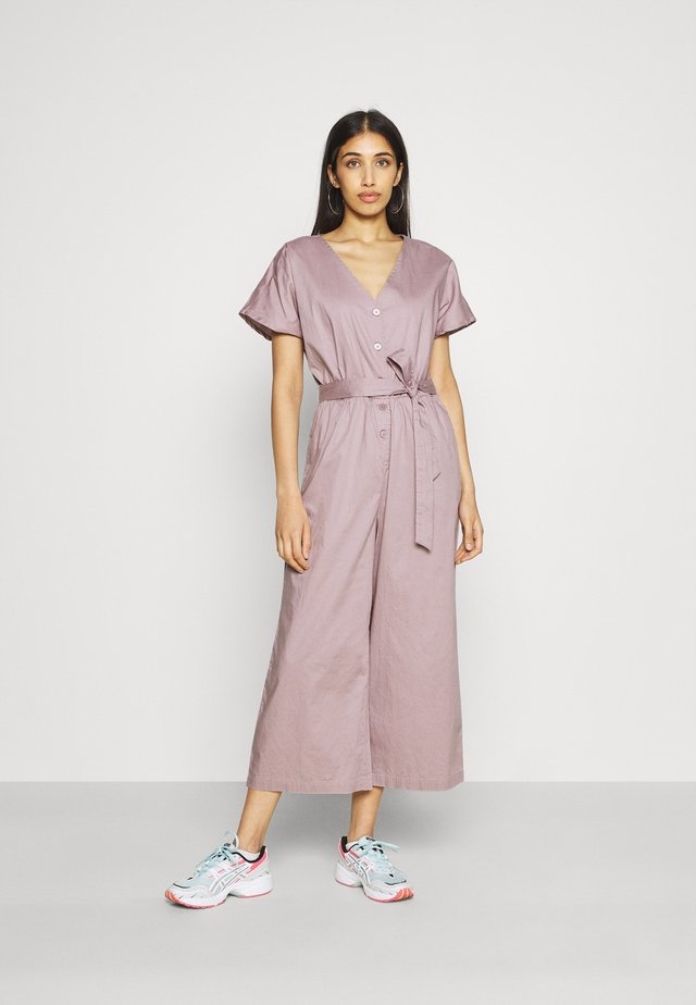 Tuta jumpsuit - purple