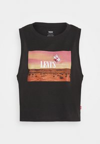 Levi's® - GRAPHIC CROP TANK - Top - black - 4