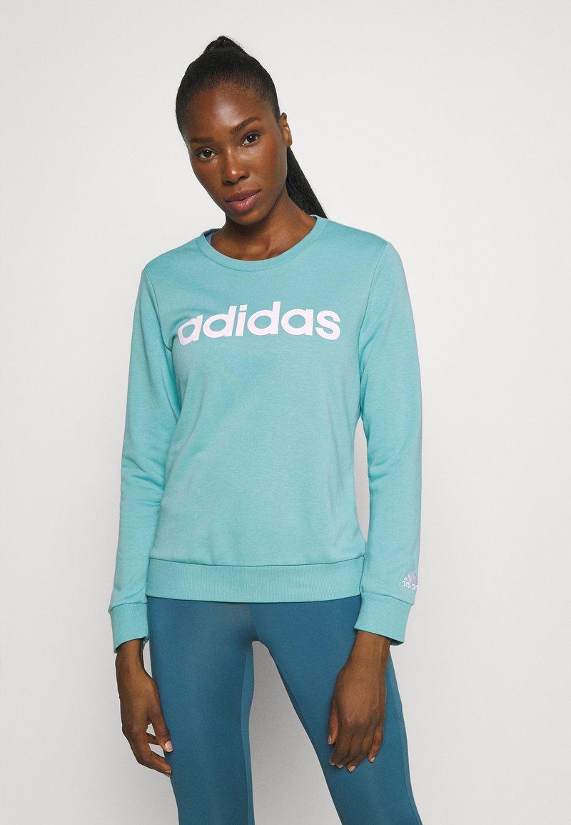 adidas Performance - Sweatshirt - mint ton/white
