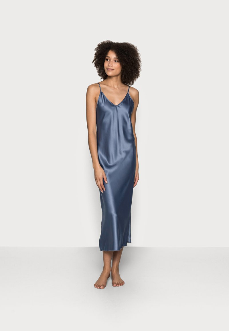 LingaDore - LONG DRESS - Nattskjorte - china blue