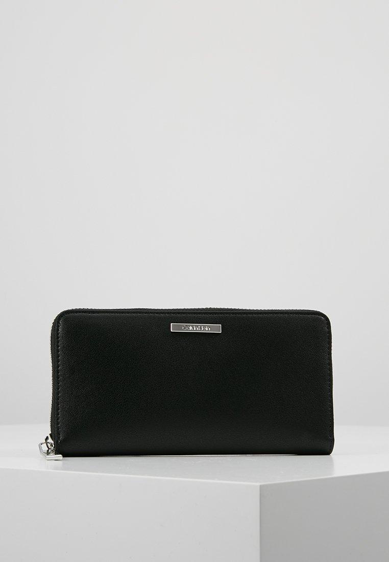 Calvin Klein - EXTENDED ZIPAROUND - Portefeuille - black