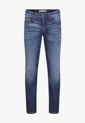 Slim fit jeans - dark indigo heavy wash