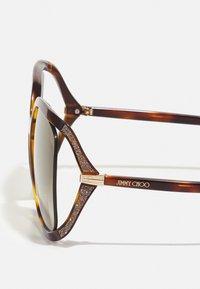 Jimmy Choo - TILDA - Sunglasses - dark havana - 4