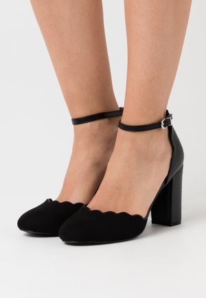 WIDE FIT WHISPER - Szpilki - black