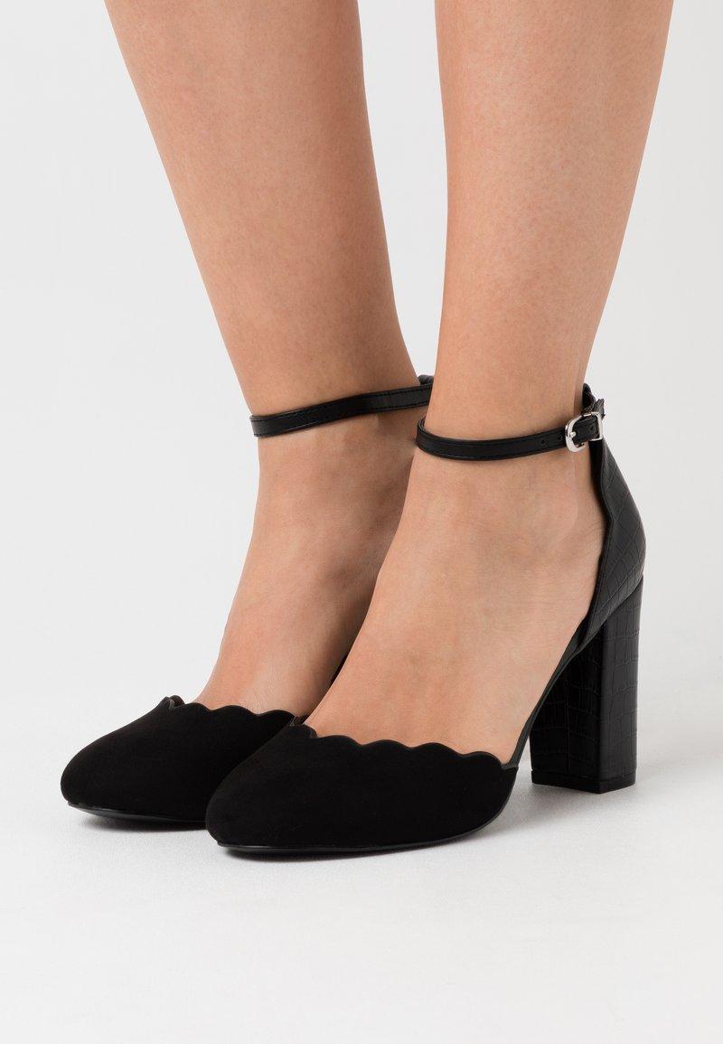 Wallis Wide Fit - WIDE FIT WHISPER - High heels - black