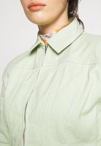 HOSBJERG - RUTH - Denim jacket - mint green - 5