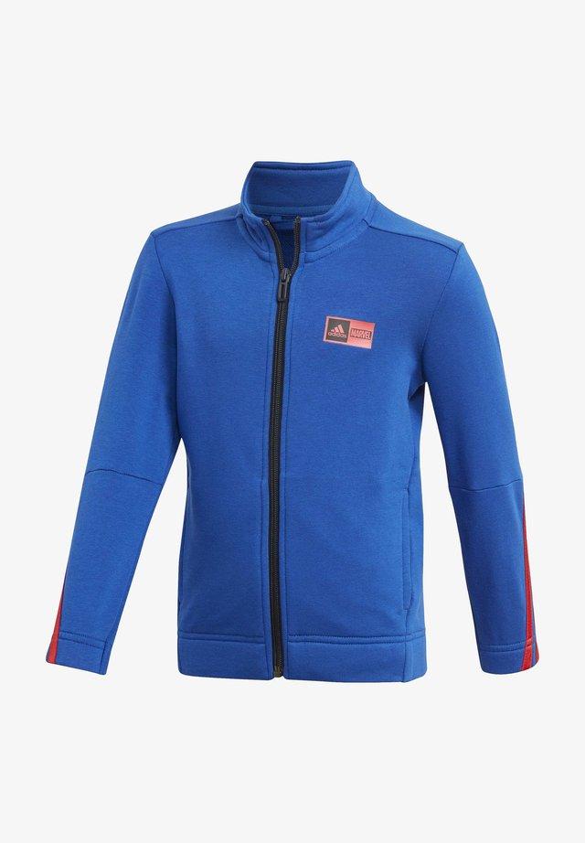 SUPERHERO ADVENTURES SWEATSHIRT - Zip-up hoodie - blue