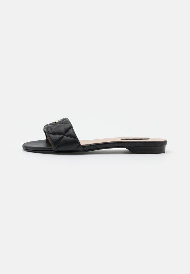 Pantofle - nero