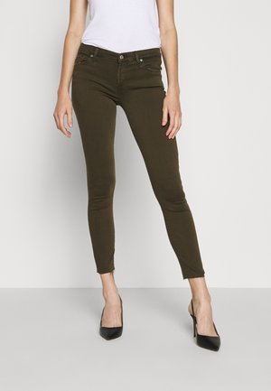 CROP - Jeans Skinny Fit - army