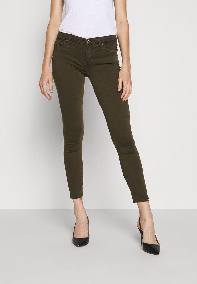 CROP - Jeans Skinny Fit - army