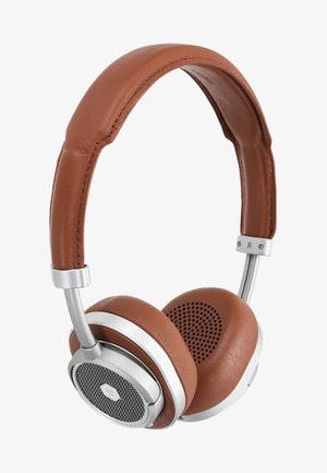 MW50 WIRELESS ON-EAR - Auriculares - brown/silver