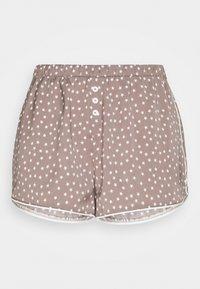 BOXER - Pyjama bottoms - dusty mushroom