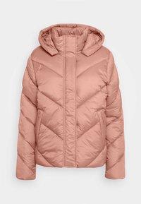 Saint Tropez - CATJASZ SHORT JACKET - Winter jacket - burlwood - 4