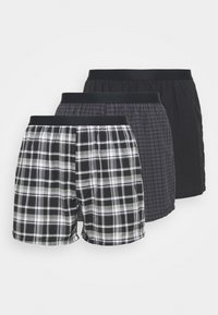 Pier One - 3 PACK - Boxer shorts - black - 4