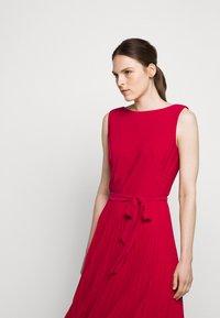 Lauren Ralph Lauren - MID WEIGHT DRESS  COMBO - Day dress - berry sorbet - 5