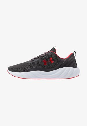 Sports shoes - jet gray/white/red