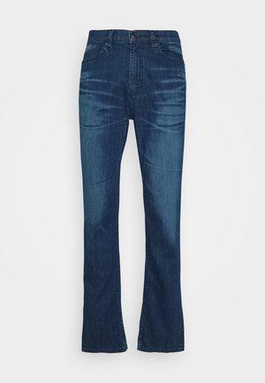 Džíny Straight Fit - turquoise/aqua
