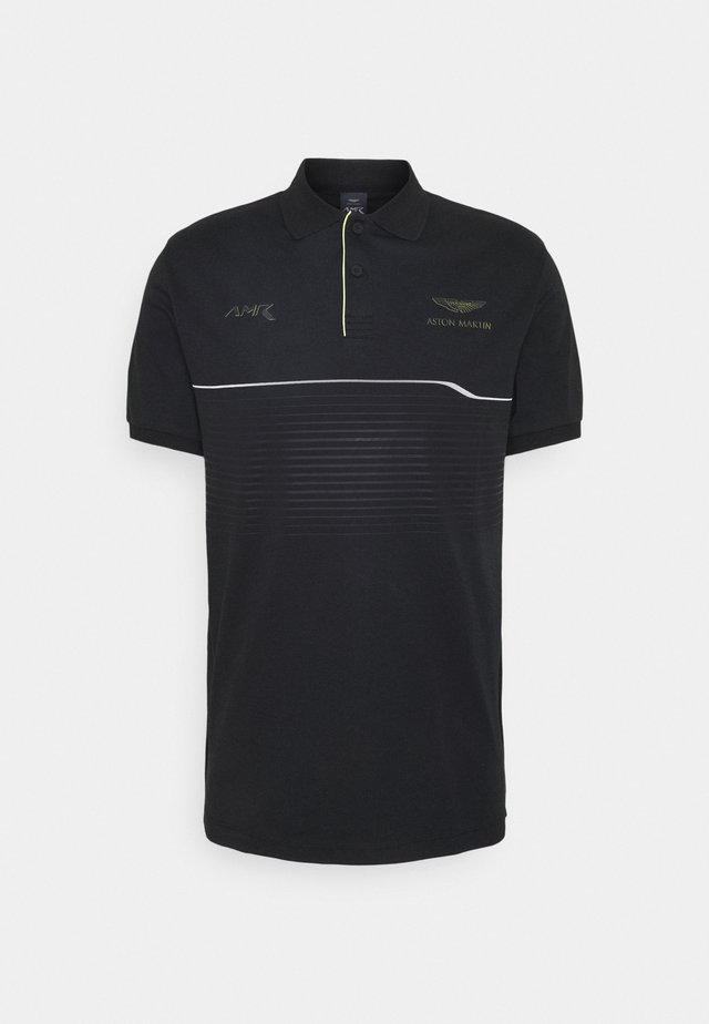 CHEST PANEL - Koszulka polo - black