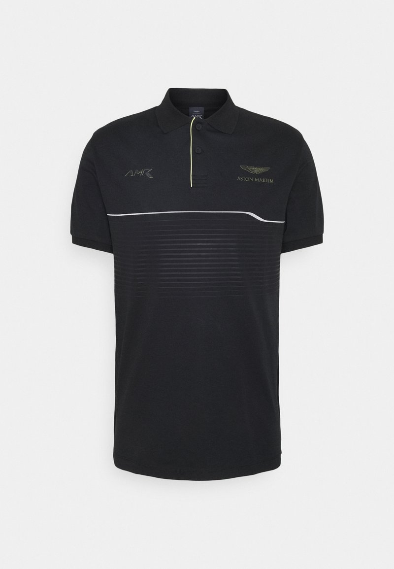 Hackett Aston Martin Racing - CHEST PANEL - Polo - black
