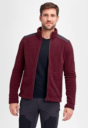 INNOMINATA - Fleece jacket - merlot melange