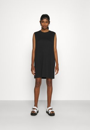 NMMAYDEN SHORT DRESS - Jerseykjole - black