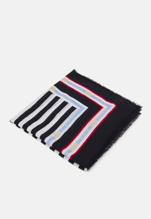 STRIPE SQUARE - Foulard - blue